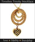 Gold Timeless Trinity Necklace