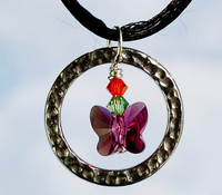 Floating Butterfly Necklace