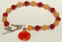 Summer Daze Carnelian Bracelet