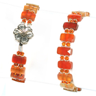 Mandarin Mojito Carnelian Bracelet