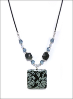 Snowy Night Necklace