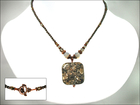 Timeless Turritella Fossil Necklace