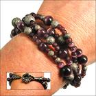 Purple Twilight Twist Bracelet
