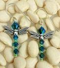 Emeralds in the Sky Earrings
