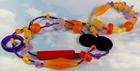Harvest Season Resin Necklace & Bracelet Set