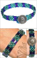 Bora Bora SuperDuo & Tila Bracelet
