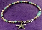Oregon Beach Starfish Bracelet