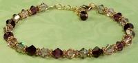 Vintage Mauve Bracelet