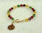 Burst of Sunflower Bracelet