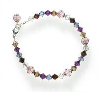 Pretty With Denim Bracelet