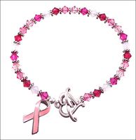 Think Pink Awareness Bracelet