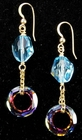 Swarovski Cosmic Crystal Earrings