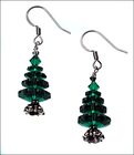 Image Traditional Holiday Tree Earring Kit