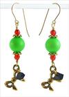Green Grinch Earrings