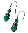 Emerald Valley Earrings