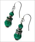 Emerald Valley Earrings