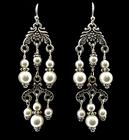 Image Pearl Chandelier Earrings