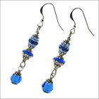 Alluring Sapphire Earrings