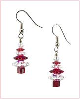 Christmas Spirit Tree Earrings