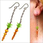 Classy Carrot Garden Earrings