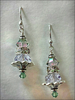 Tropical Fountain of Youth Swarovski Earrings