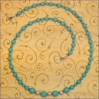 Soft and Subtle Jade Pearl Necklace