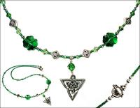 St. Patty's Lucky Celtic Necklace