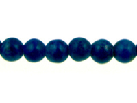 Lapis 4mm round blue