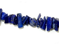 Lapis chips deep blue