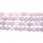 Amethyst 4mm round lavender