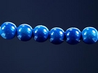 4mm round royal blue Miracle Beads