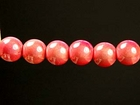 6mm round melon Miracle Beads
