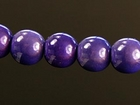 6mm round purple Miracle Beads