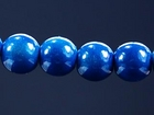 6mm round royal blue Miracle Beads