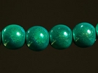 6mm round turquoise Miracle Beads