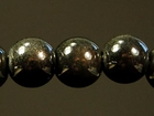 8mm round slate grey Miracle Beads