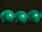 8mm round turquoise Miracle Beads