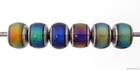Image Mirage beads rondell 7 x 8mm color changing