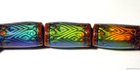 Image Mirage beads Glow nouveau 17 x 8mm color changing