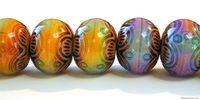 Mirage beads Chinese lantern 13 x 16mm color changing