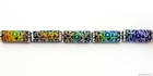 Mirage beads Secret garden 16 x 6mm color changing