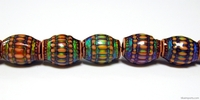 Mirage beads Moon basket 16 x 12mm color changing