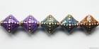 Mirage beads Aurora 15.2mm color changing