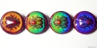 Mirage beads Bee-lightful 19 x 9mm color changing