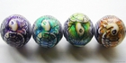 Mirage beads Turtle island 17.5 x 16mm color changing
