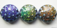Mirage beads Stargazer 11 x 22mm color changing