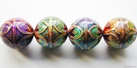 Mirage beads Opulent arches 17mm color changing