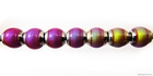 Mirage beads round 5mm color changing