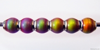 Mirage beads round 6mm color changing