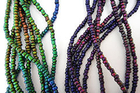 Mirage beads seed bead 3mm x 2.5mm color changing